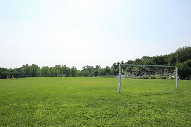 Soccer Field Two, alternate soccer field with two white goals